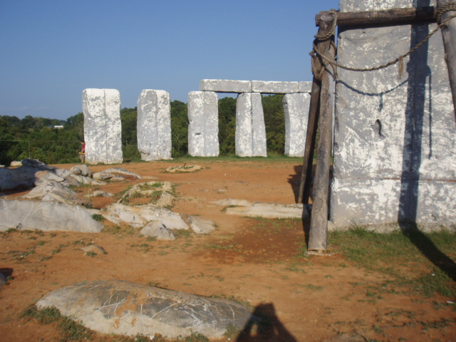 Foamhenge at Natural Bridge